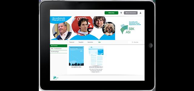 Krankenpflege macht den Schritt ins digitale Zeitalter