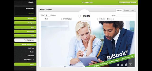 ISBN im taBook® CMS