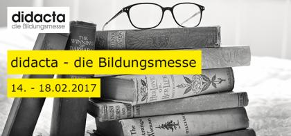 Bildungsmesse: didacta vom 14.02. – 18.02.2017