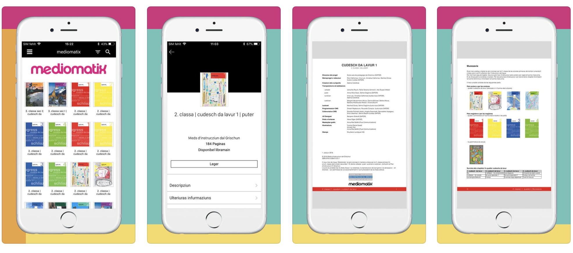 Mediomatix: Vorschau der iOS-App